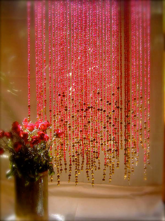Memories Of A Butterfly Beaded Curtain Ready Made