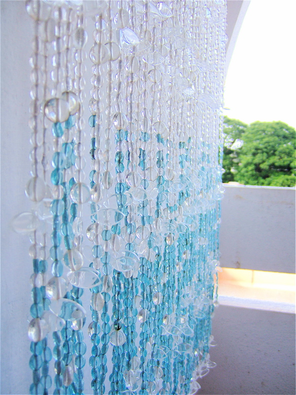 Other Similar Leaf Bead With Glass Mix Combinations Include Moroccan Blue Mehendi Yellow And Oriental Curtain