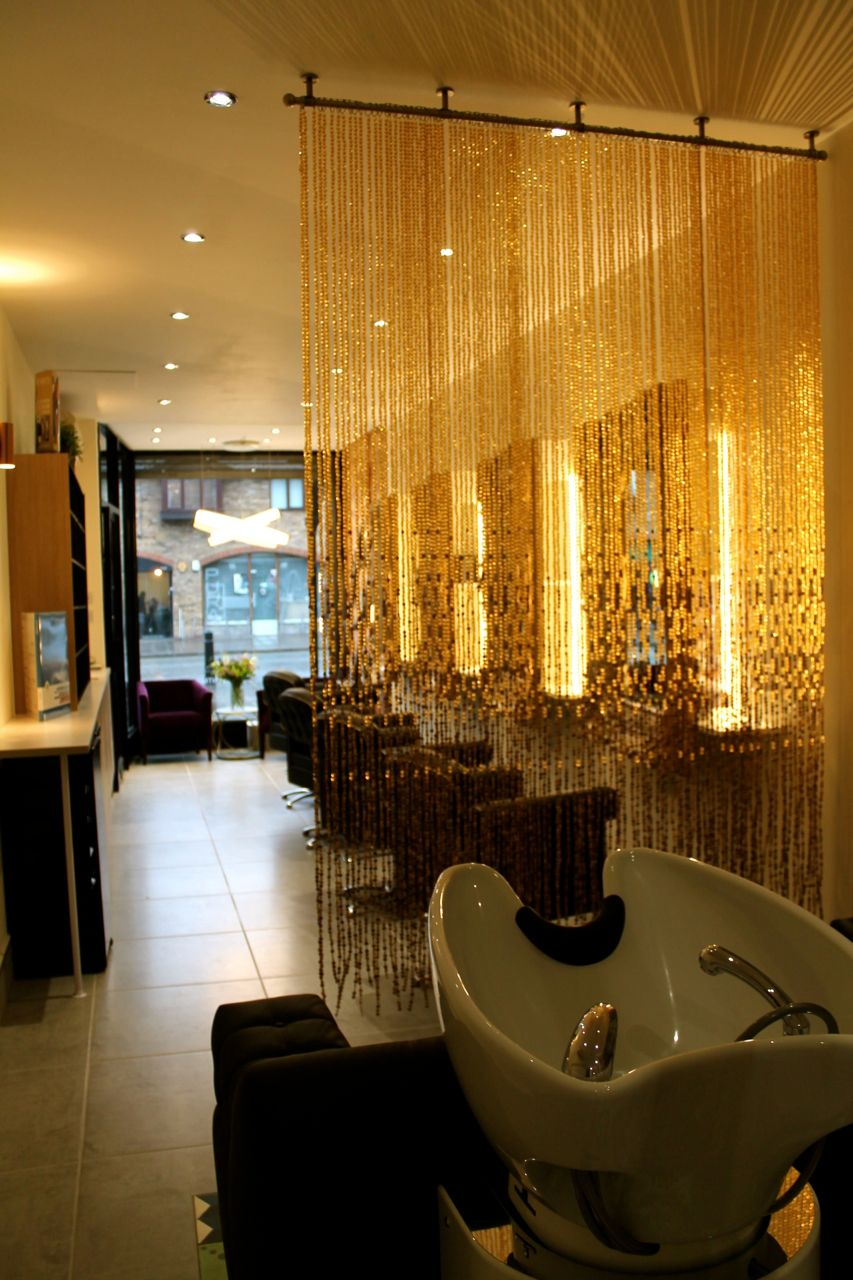 Champagne Gold Luxurious Acrylic Crystal Bead Curtain Memories of