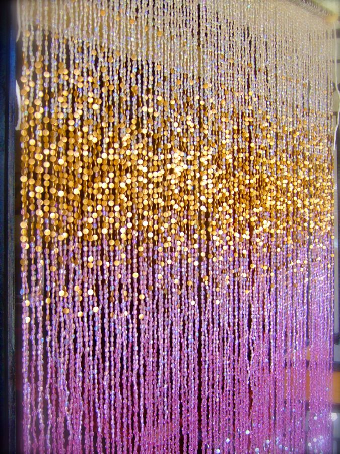 Gold beaded curtains curtain ideas